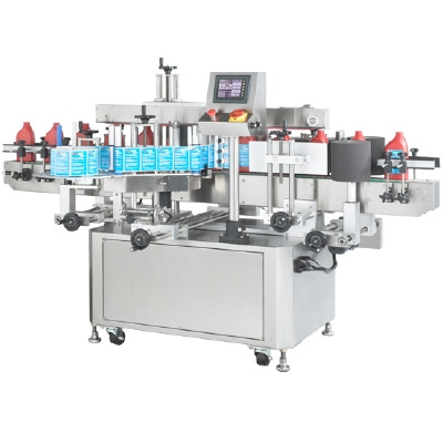 AL610 Two Sides Labeler With Wrap Station