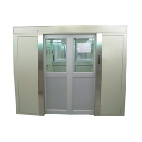 Air Shower automatic sliding door